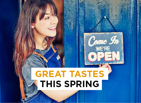 Great tastes this spring