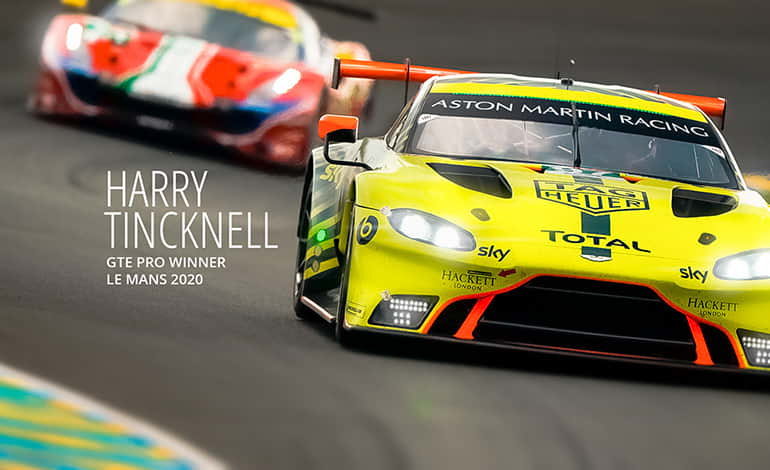 Harry Tincknell GTE Pro Winner - Le Mans 2020