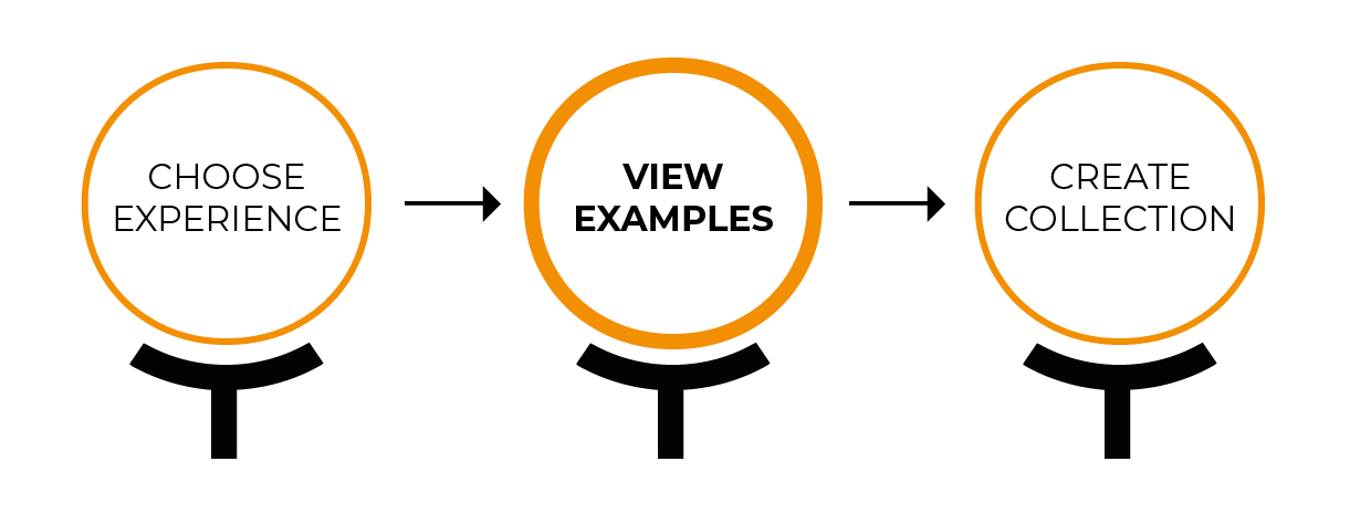 View Examples & Create Custom Collection