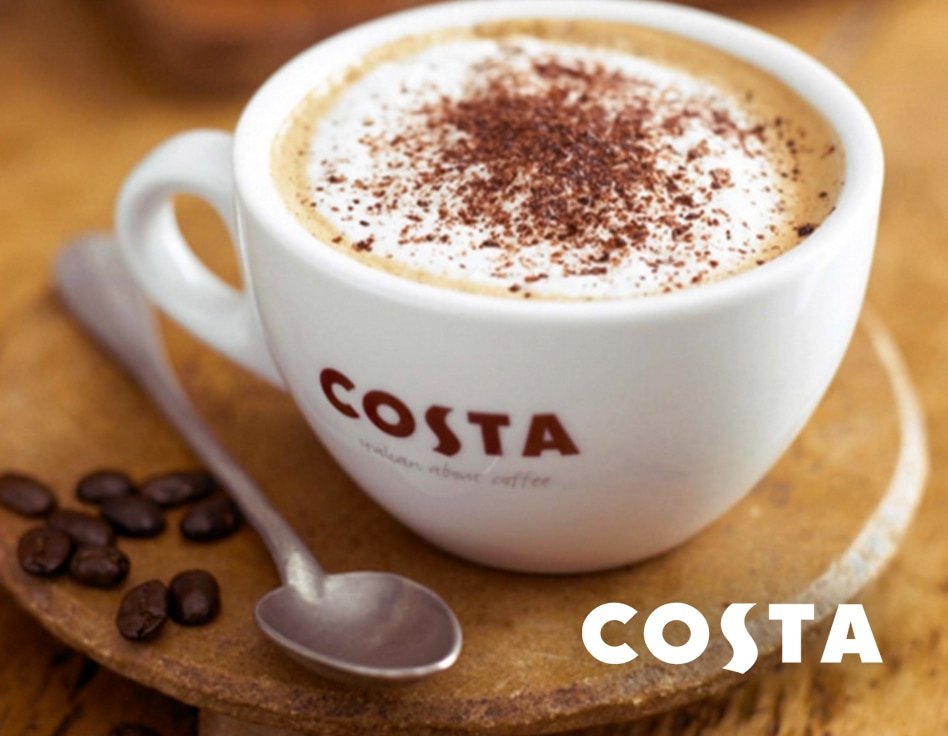 Get Refreshed at Costa
